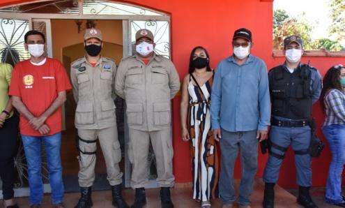 Prefeito Municipal participa de Inauguração de Brigadistas Mista Municipal em Rosário Oeste; Fotos!